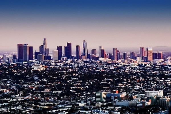 Los Angeles from the Observatory