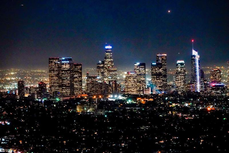 The DTLA Los Angeles Skyline