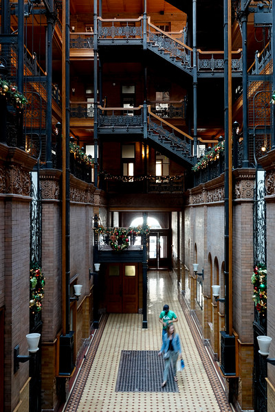 The Bradbury Buildings: DTLA