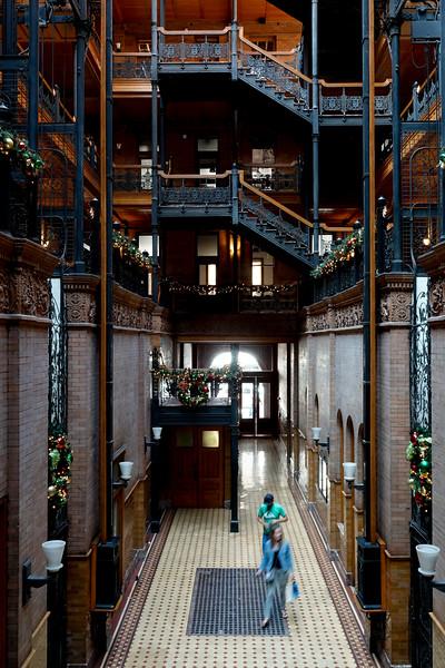 The Bradbury Buildings: DTLA
