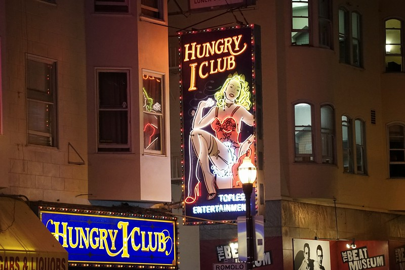 The Hungry I in North Beach