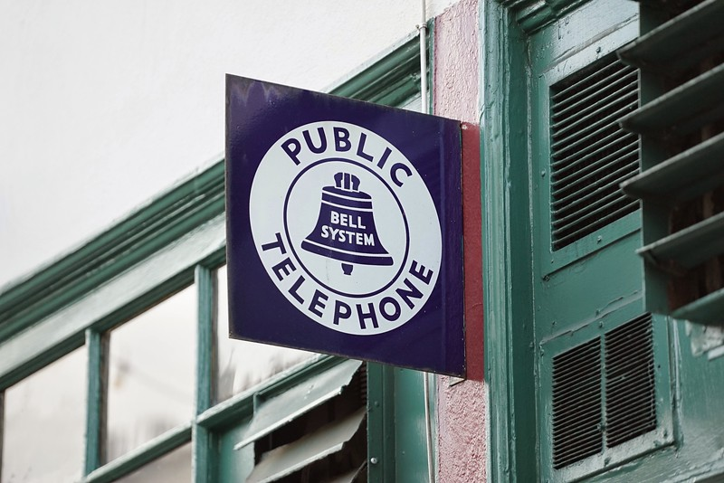 Yes, they still have phone booths