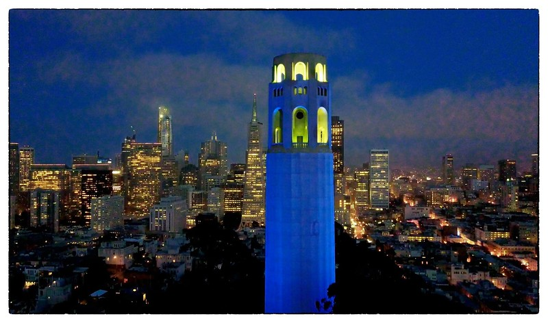 Majestic Coit Tower
