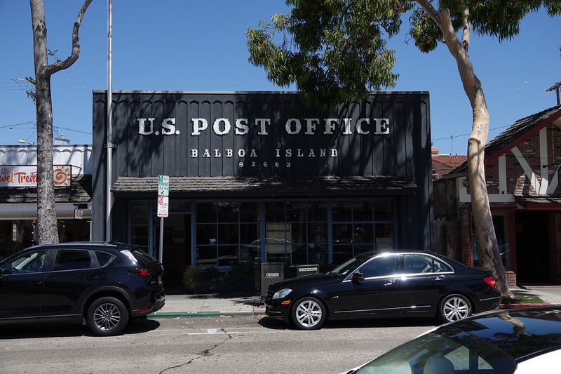An old historic post office in Balboa Island