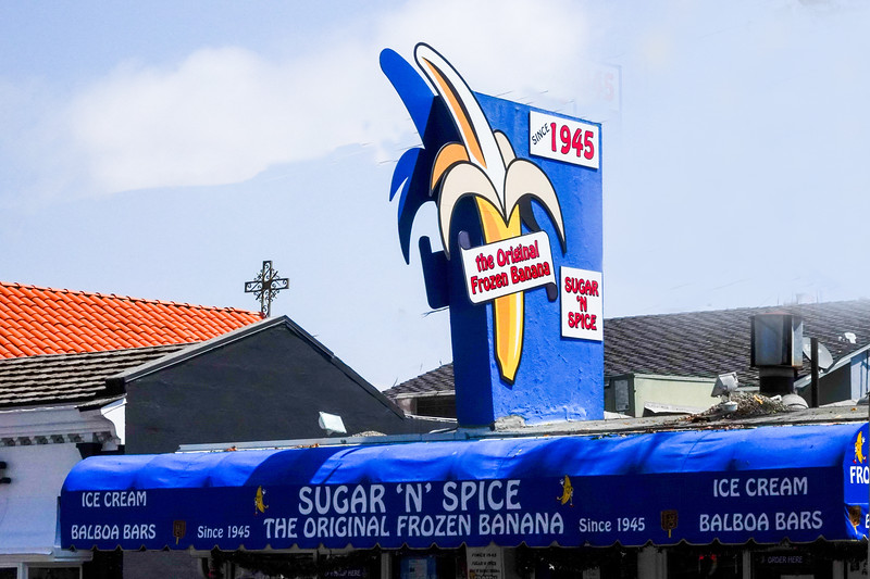 Sugar N' Spice is home of the original frozen banana, and the inspiration for TV's Arrested Development
