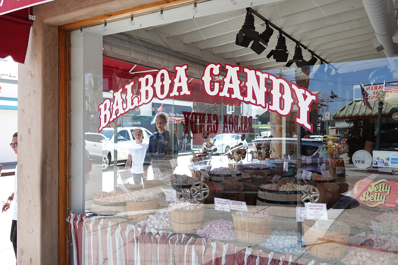 Balboa Candy sells taffy, Jelly Belly sours and of course, Balboa Bars.