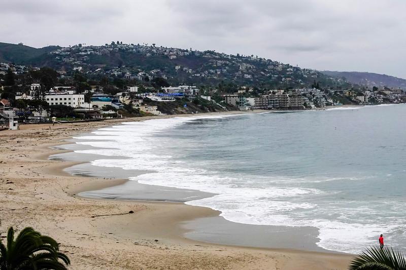 The coastline, as seen from Laguna Beach