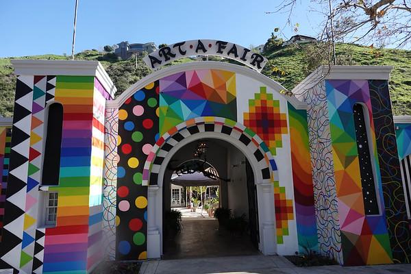 Art is very popular in Laguna Beach