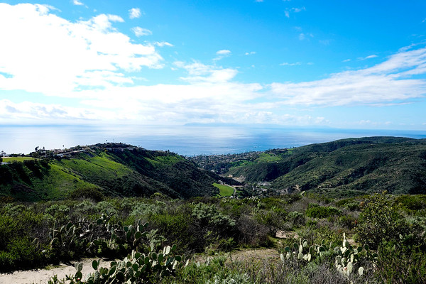 The Top of the World is a park high above Laguna Beach, with an overview shot of the city.