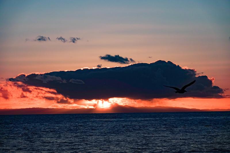 Sunset over Laguna Beach