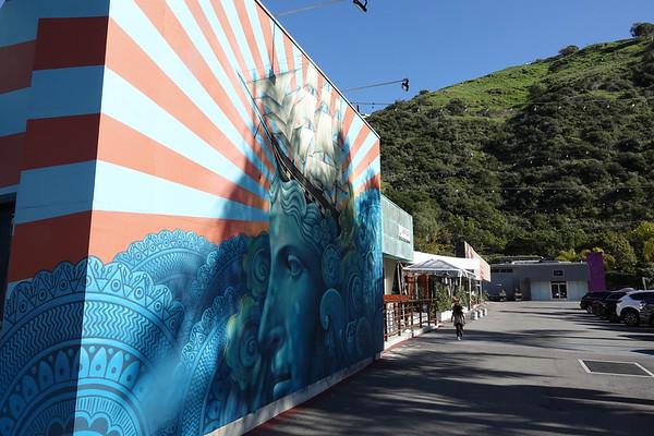 A Laguna Beach street mural