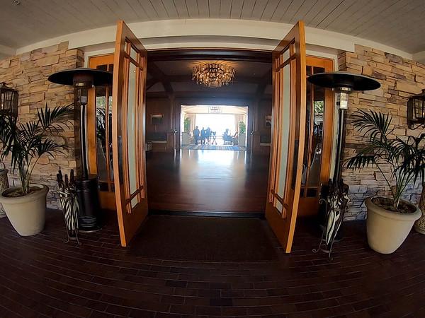 Thge lobby to Montage Laguna Beach