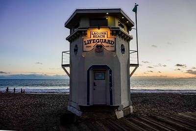 Laguna Beach #Photowalk, lifeguard tower