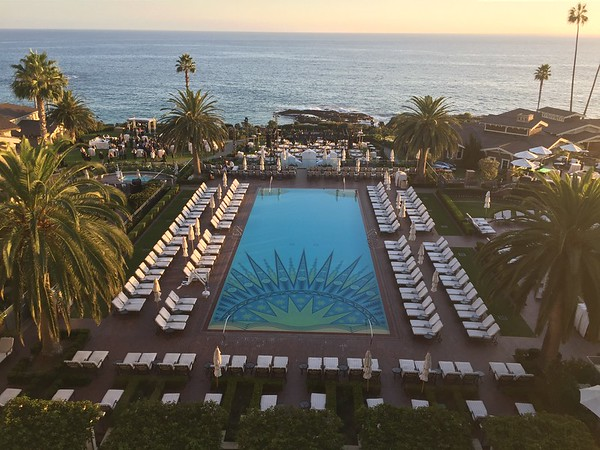 Montage Laguna Beach swimming pool