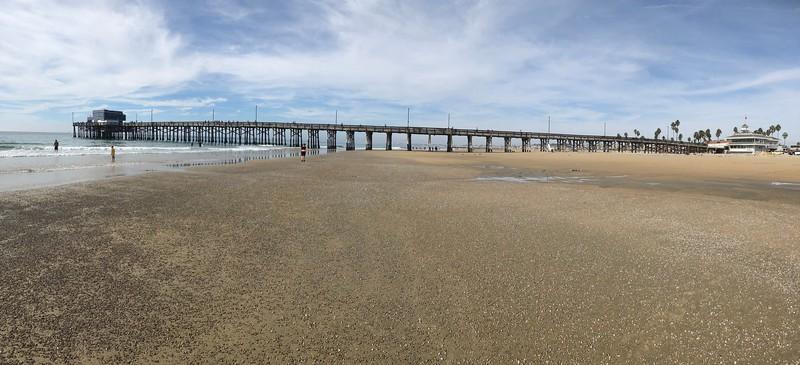 Newport Beach Pier, panorama