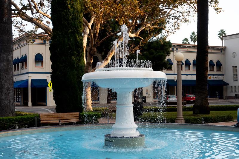 Grand Circle Fountain, Orange, California