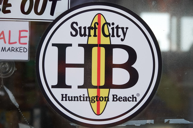 Hunington Beach is Surf City USA
