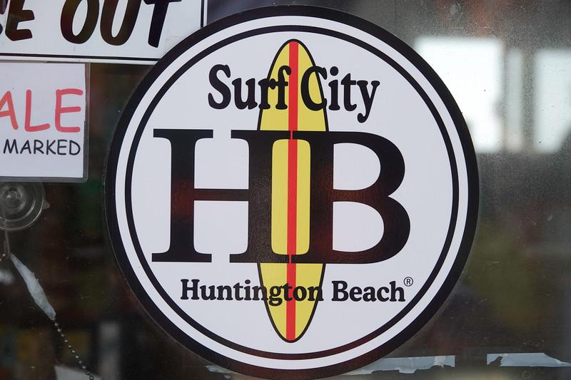 Hunington Beach is Surf City USA