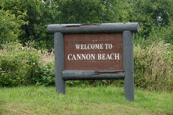 Welcome to Cannon Beach, Oregon