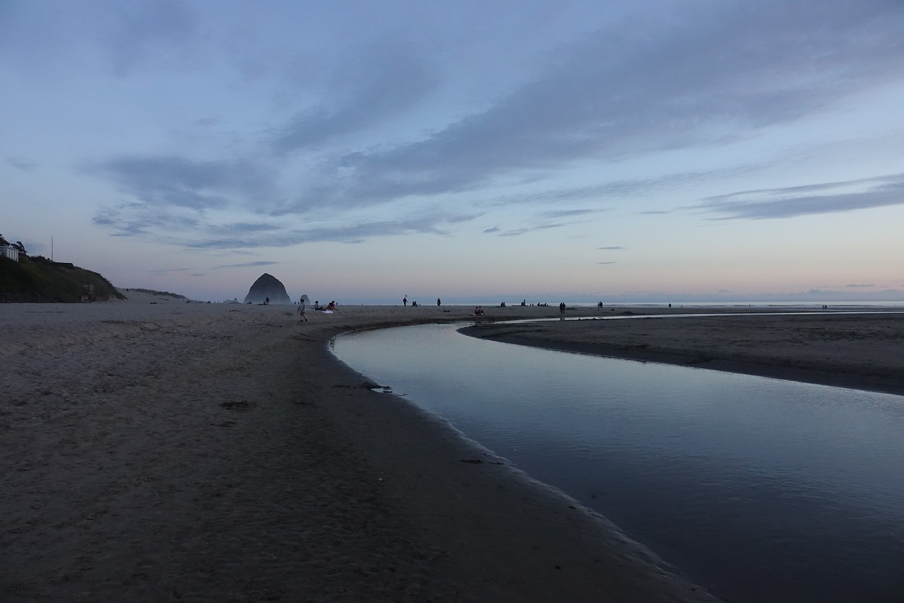 Cannon Beach @sunset