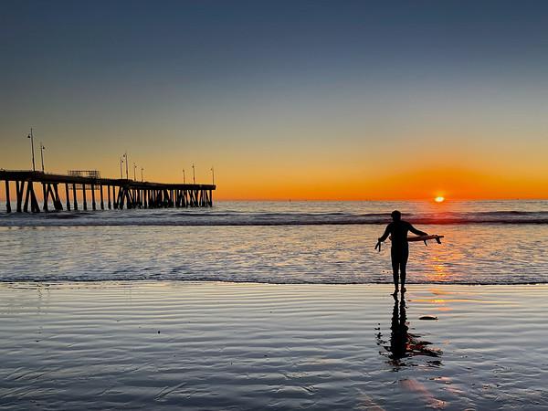 """Sunset in Venice"""