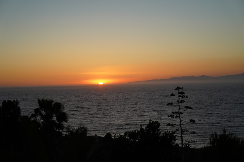 Sunset in Palos Verdes Estates