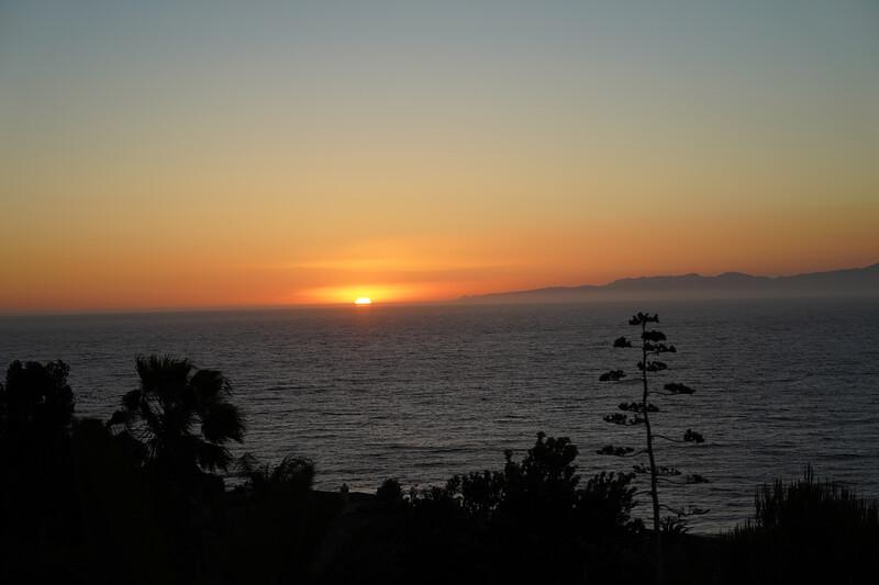 Sunset in Palos Verdes Estates