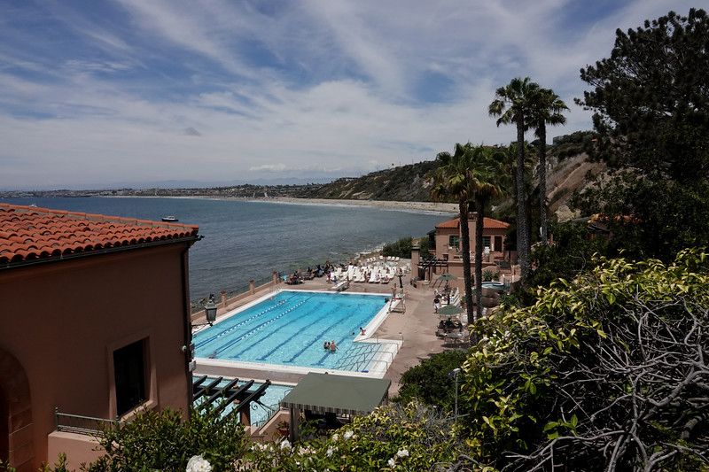 Poolside at the Palos Verdes Beach and Atlnetic Club