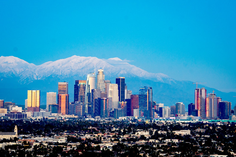 """Los Angeles Skyline"""