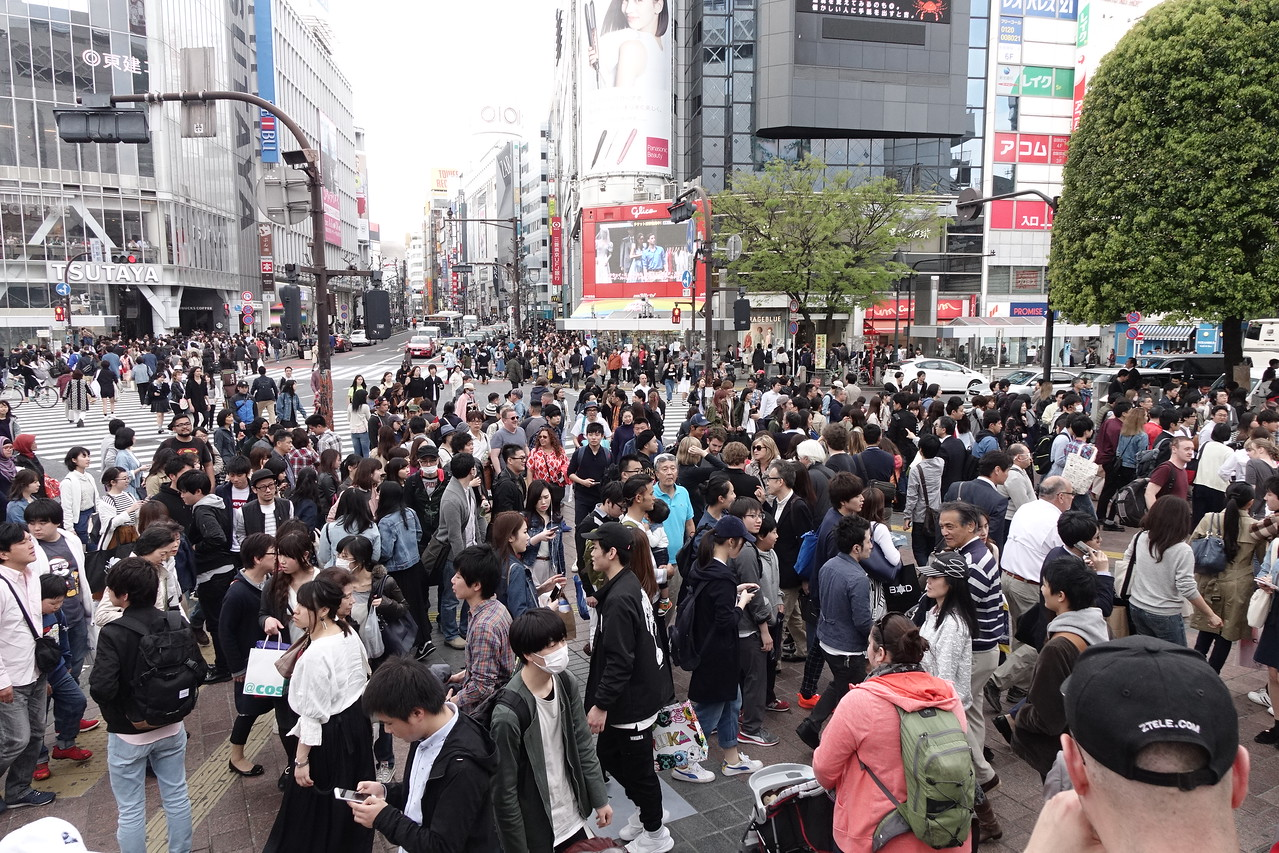Wild and Crazy Shibuya in Tokyo