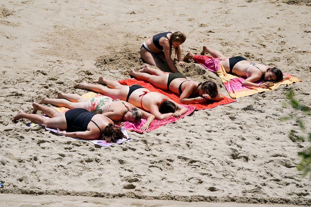 Summer in Laguna at the beach