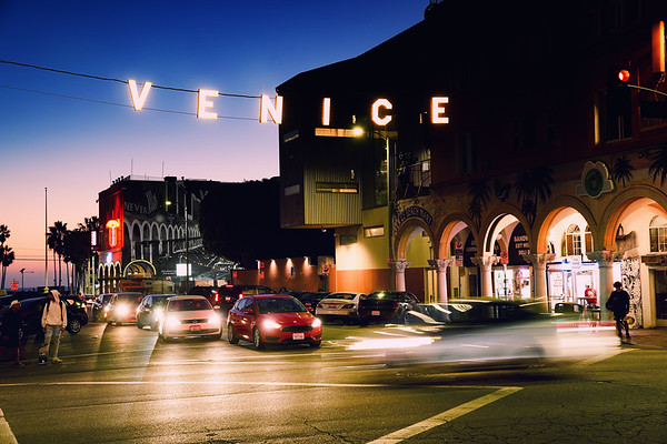 """Venice Beach, Windward & Pacific"""