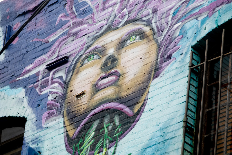 A Venice Beach mural.