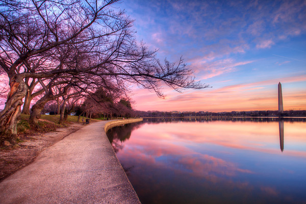 Pink Monument Sunrise