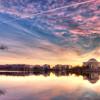 Pink Sunrise at the Jefferson
