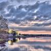 Jefferson Cloudy Sunset