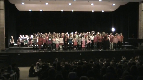 Coolidge 5th Grade Valentines Concert Feb. 8th 2016