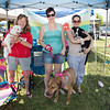 Amy Morrison and Harley, Kara Fraley and Ginger, and Amber Graves and Sal.