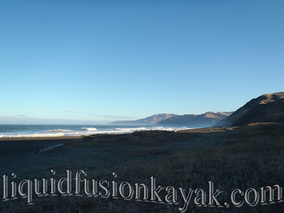 Day 2 - Sunrise reflections on the Lost Coast.