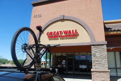 Great Wall on US60 and Kings Ranch, Great place for a after ride meal...
