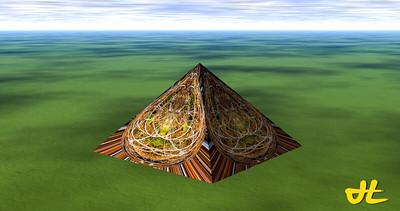 pyramid at rosyaqua