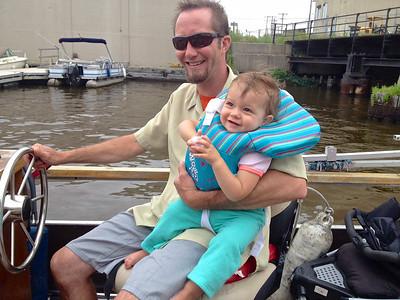 Pontoon Boat trip, Summer 2014