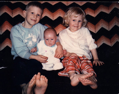Jim, baby Jeff and Dawn
