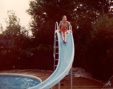 Jeff at Lloyd & Liz's pool in Buchanan