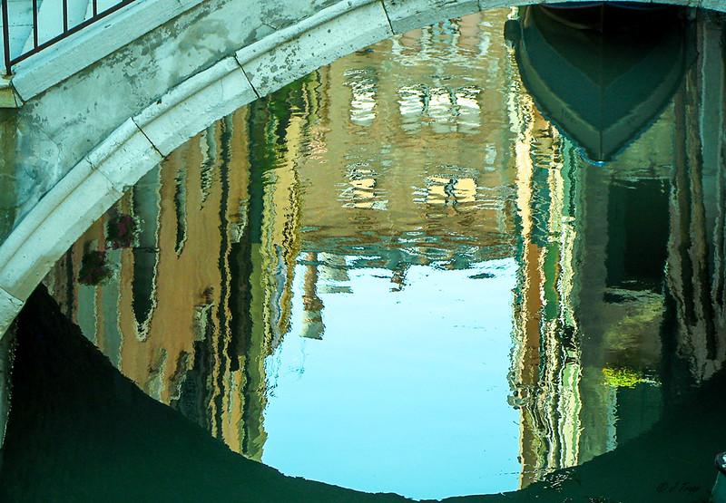 Monet moment, Venice Italy