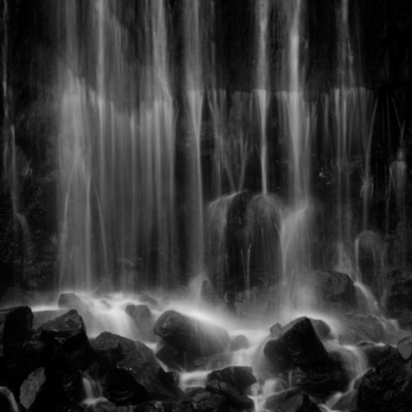 Ephemeral Scotland Waterfall