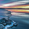 Lake Kegonsa Icy Sunrise