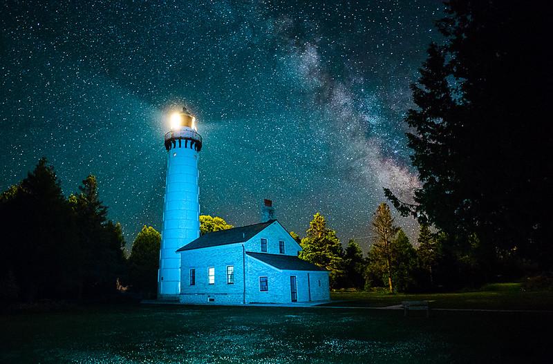 Cana Island Lighthouse, Bailey's Harbor, Door Cty WI
