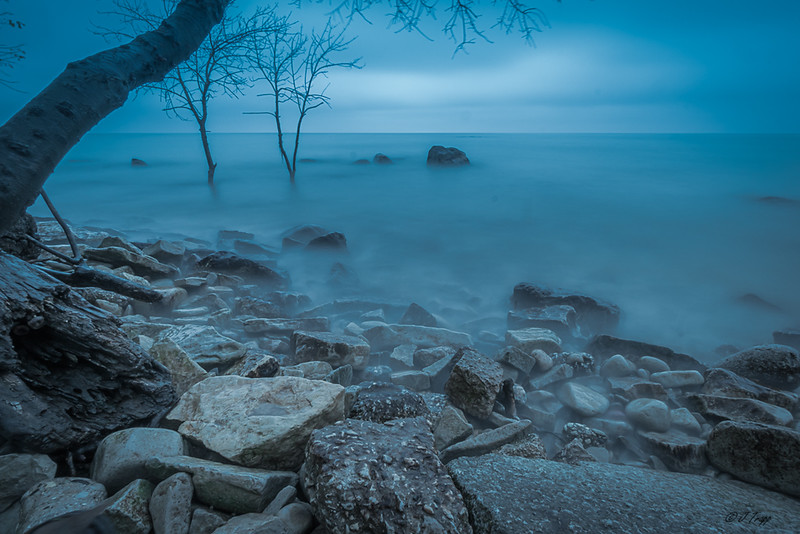Boulder Point, Lake Michigan