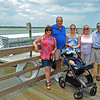 Family Photo at Jekyll Wharf on Jekyll Island, Georgia 06-28-18